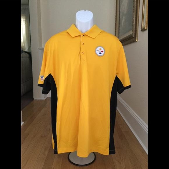 7f33ee01 Nike NFL Shirts   Pittsburgh Steelers Nfl Nike Drifit Polo Shirt Xl ...